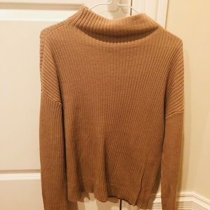 BP mustard turtle neck sweater