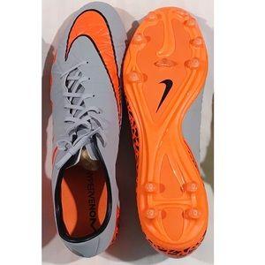 Orange and Grey Nike Phinish II soccer Brand New