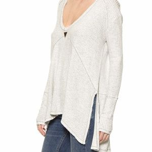 Free People Sunset Park Thermal | Stone Wash White