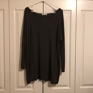 Charcoal tunic by Reborn
