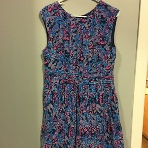 Multicolored Boden dress great condition!