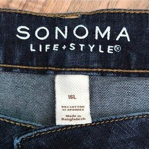 8ddddf52e89 Sonoma Jeans - Plus size SONOMA life + style curvy skinny jeans