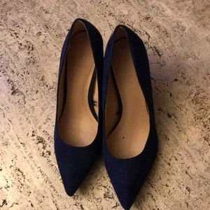 Blue Suede shoes Zara