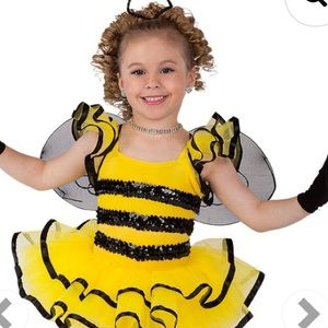 Other - Bumble Bee Baby Dance Costume Size 2T