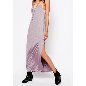 Free People Intimately She Moves maxi slip dress M