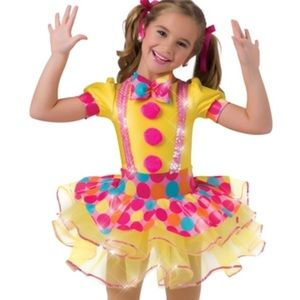 Other - Clown Dance Costume size 2T worn once!