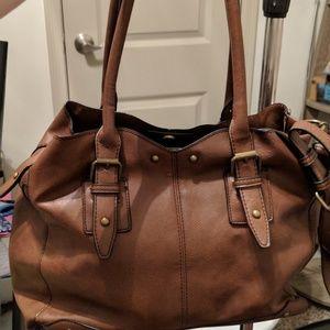 Brown Aldo purse