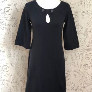 Theory Black 3/4 Sleeve Dress size 00
