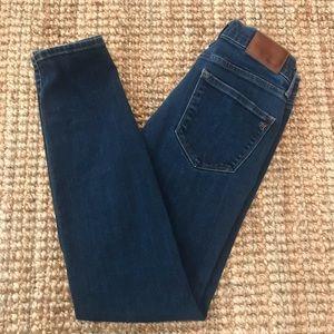 Madewell Jeans Skinny Women's 28x28.25 Dark Blue