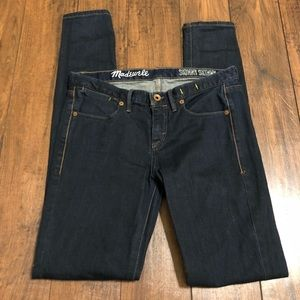 Madewell skinny skinny jeans sz 27