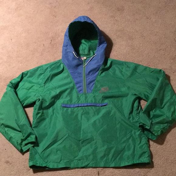 501cd3c292a5 Vintage 70 s Orange Tag Nike Pullover Windbreaker.  M 5a2f6af7291a357f6902427e