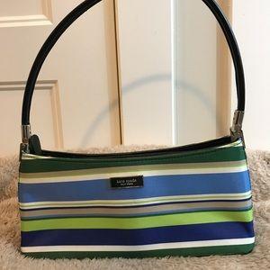 Kate Spade New York Striped handbag.