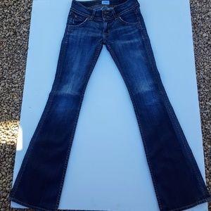 Hudson boot cut designer jeans