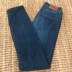 Madewell Skinny Jeans Women's 28x27.5 Faded Blue