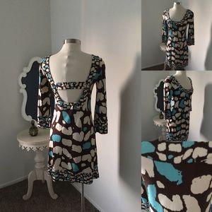 🎄Silk Dress By Diane Von Furstenberg 🎄