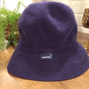 Navy Blue Kangol Bucket Hat