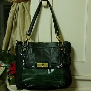 SALE: COACH Eb1198 Leather Tote