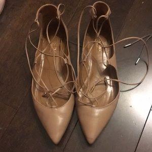 Aquazzura Christy leather Lace up Sandal