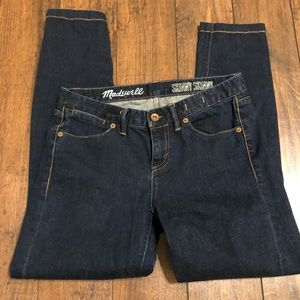 Madewell skinny skinny jeans  sz 27 *hemmed*