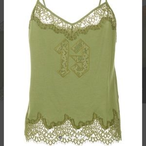 5ac8b37b2a1f Puma Tops - PUMA X FENTY Lace Trim Sleepwear Teddy Top
