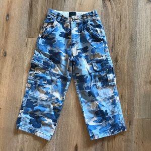 Mini Boden Camo Cargo pants