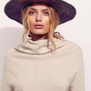 Free people go beach ribbed sweater pullover