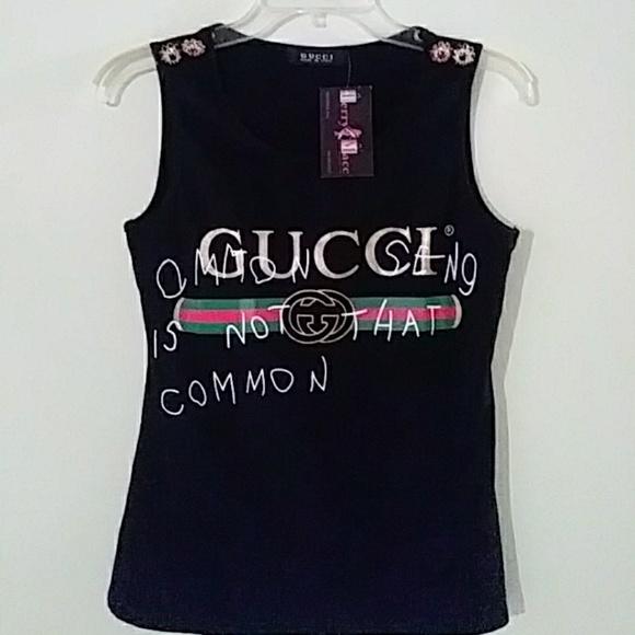 1a9c8172a0bd89 Gucci common sense tank top