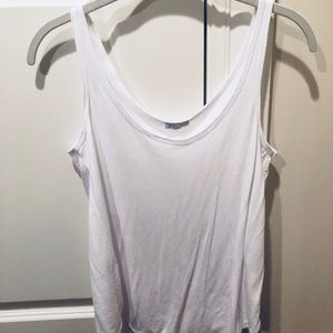 Zara white tank top