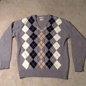 Vintage 60's Alan Paine 100% Cashmere Sweater