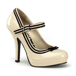 Shoes - Platform Mary-Jane High Heel Shoes Closed Toe