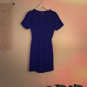 Mini dress with back cut out