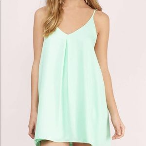 Mint Blue/Tiffany Blue Tobi Dress