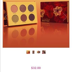 New Coloured Raine palette Beauty Rust