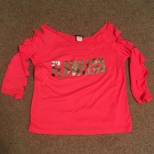 "Rue 21 ""Flawless"" Shirt Jrs Large"