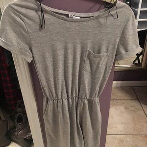 Elastic waisted dress