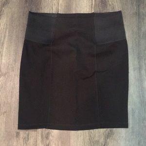 Black Fitted Skirt