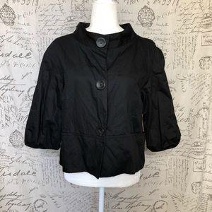 Vince. Black Cropped Blazer Jacket  Medium