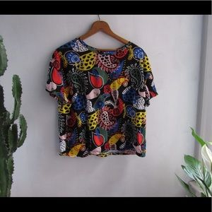 Awesome cropped Zara t.shirt #171211001