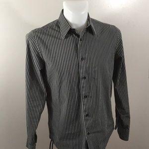 Express 1MX Modern Fit Men's Button-up Dress Shirt