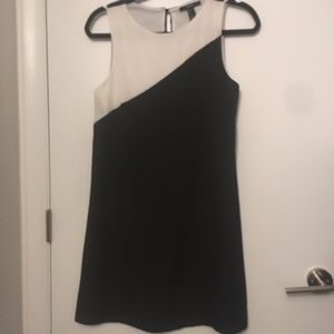 Casual Dress, black and white, Small
