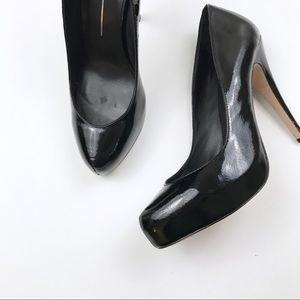 Dolce Vita Patent Leather Platform Heels 10