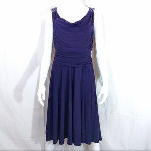 Jessica Howard Bejeweled Embellished Evening Dress