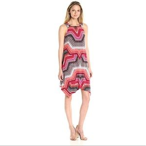 NWT Maggy London Global Print Jersey Dress