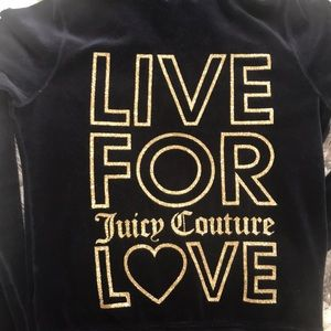 Navy Juicy Couture Jacket