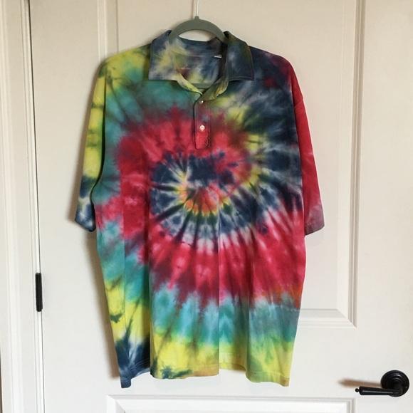eb1dbd95842b Ben Hogan Other - Cool BEN HOGAN Tie Dye Polo Shirt