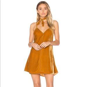 NWOT! For Love and Lemons Velvet Mini Dress