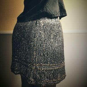 UO Sequin Skirt