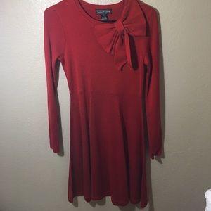 BOGO 50% off Jessica Howard long sleeve red dress