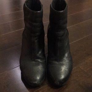 Rag & Bone Newbury Bootie Black Leather