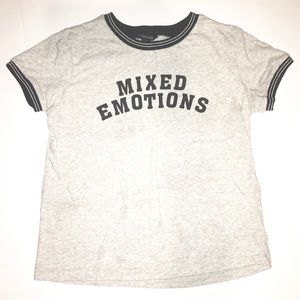 """Graphic Tee """"Mixed Emotions"""""""